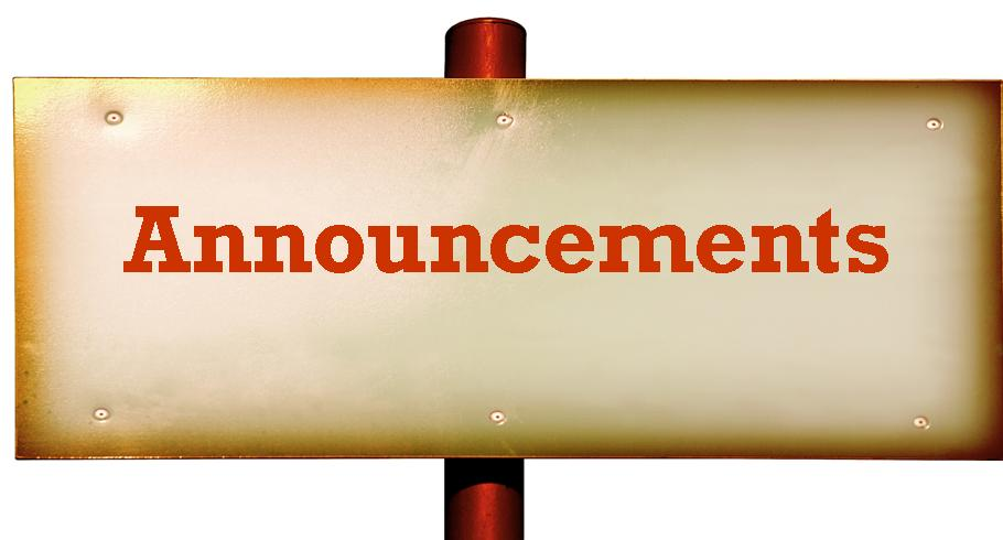 Diocese Of The Southwest Announcements